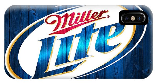 Miller Lite Barn Door IPhone Case