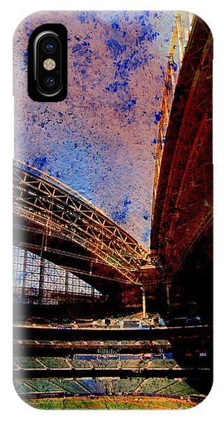 Miller Park 2 W Paint IPhone Case
