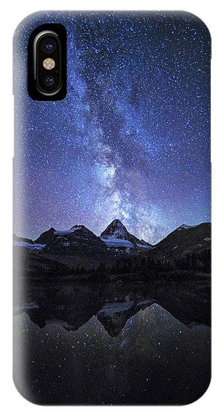 Reflection iPhone Case - Million Stars by Naphat Chantaravisoot