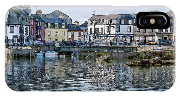 Millport Harbour IPhone Case
