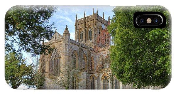 Dorset iPhone Case - Milton Abbey by Joana Kruse