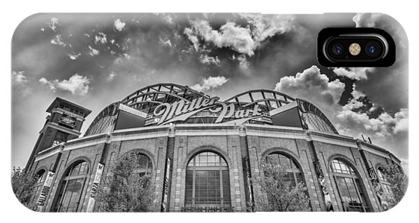 Milwaukee Brewers Miller Park 7 IPhone Case