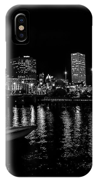 Milwaukee Downtown Third Ward IPhone Case