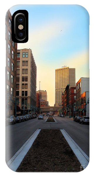 Milwaukee Street - Milwaukee Wi Phone Case by David Blank