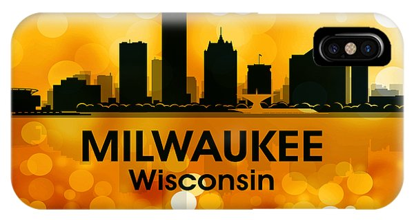 Milwaukee Wi 3 IPhone Case