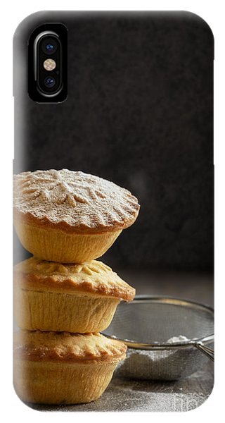 Icing iPhone Case - Mince Pie Stack by Amanda Elwell