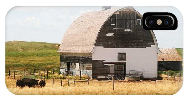 Minden Nebraska Old Farm And Barn IPhone Case