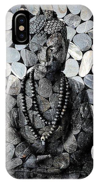 Mineral Buddha IPhone Case