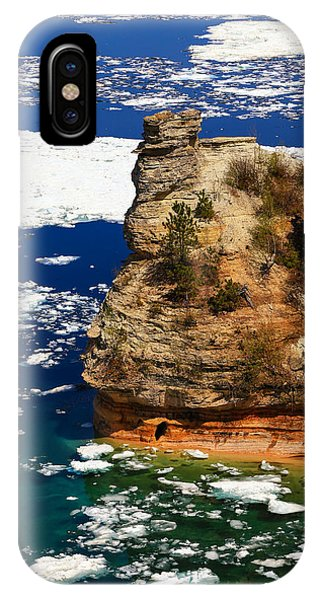 Miner's Castle In Spring IPhone Case