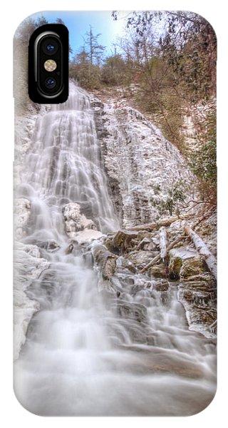 Mingo Falls In Winter IPhone Case
