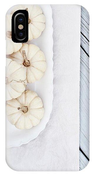 Mini White Pumpkins IPhone Case