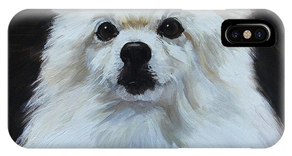Miniature American Eskimo Dog IPhone Case