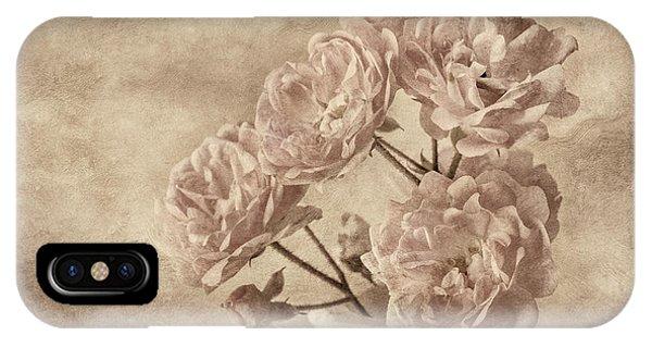 Miniature Rose Bouquet IPhone Case