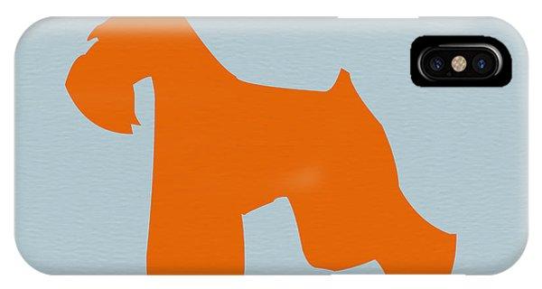 Miniature Schnauzer Orange IPhone Case