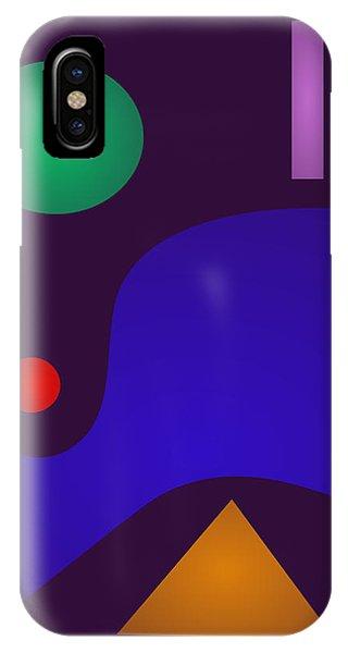 Minimal Art Night Phone Case by Masaaki Kimura