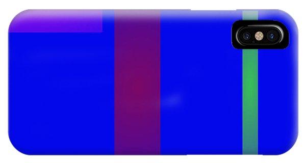 Minimalism Blue Phone Case by Masaaki Kimura