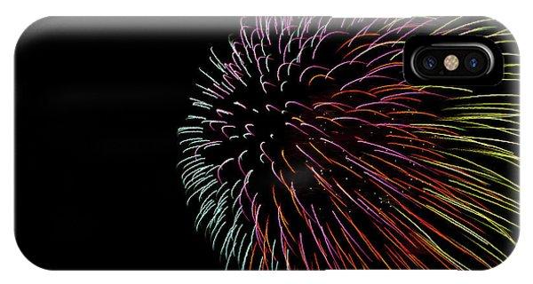 Fireworks iPhone Case - Minnesota, Mendota Heights, Fireworks by Bernard Friel