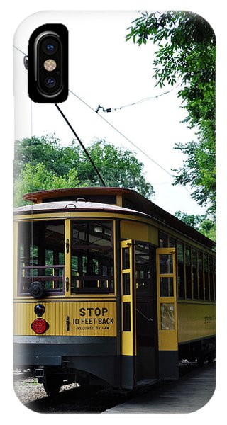 Minnesota Streetcar Museum IPhone Case