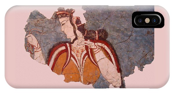 Minoan Wall Painting IPhone Case