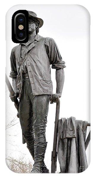 Minute Man Statue IPhone Case