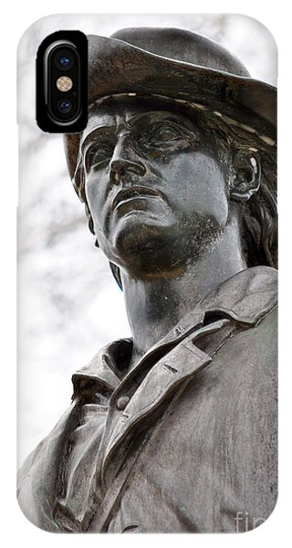 Minute Man Statue 3 IPhone Case