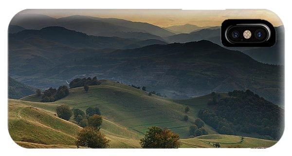 Farm Landscape iPhone Case - Mioritic by Ovidiu Satmari
