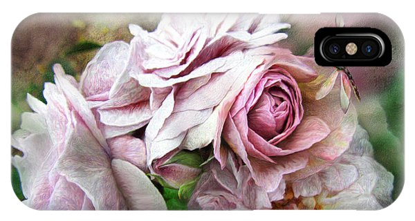 Miracle Of A Rose - Mauve IPhone Case