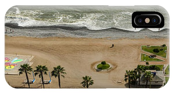 Miraflores Beach Panorama IPhone Case