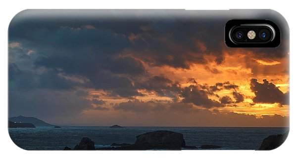 Mirandas Islands Galicia Spain IPhone Case