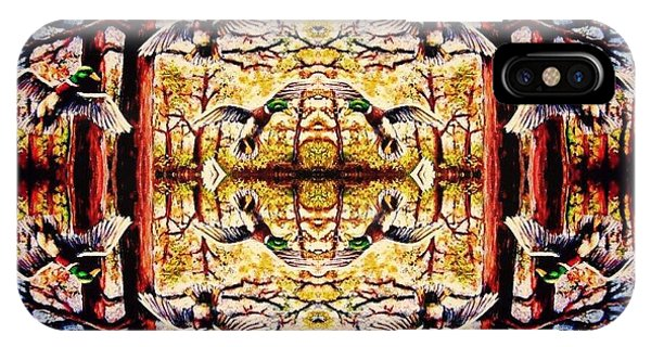 Mirror Ducks Phone Case by Sebastian Pierre