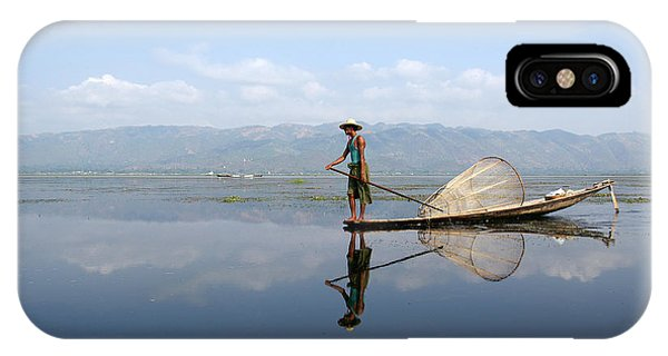 Mirror Inle Lake Phone Case by Jessica Rose