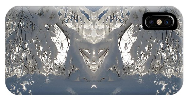 Mirror Of Snow  IPhone Case