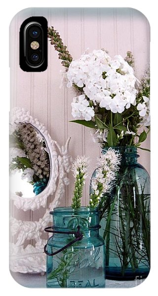 Mirrored Bouquet 1 IPhone Case