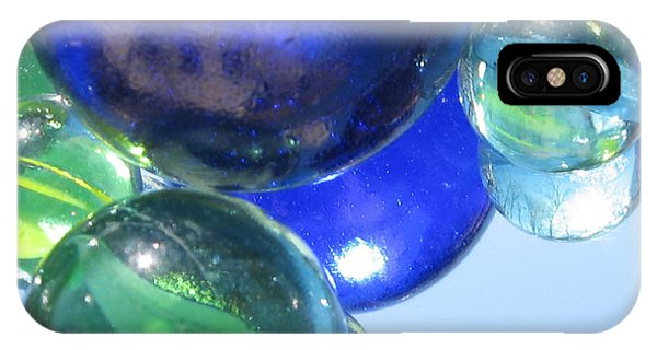 Mirrored Marbles IPhone Case