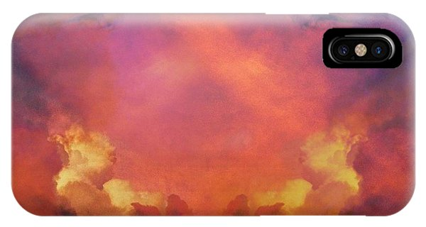 IPhone Case featuring the photograph Mirrored Sky by Carol Whaley Addassi