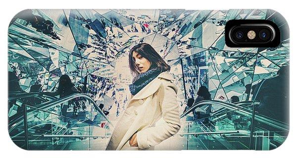 Street Light iPhone Case - Mirrors by Daisuke Kiyota