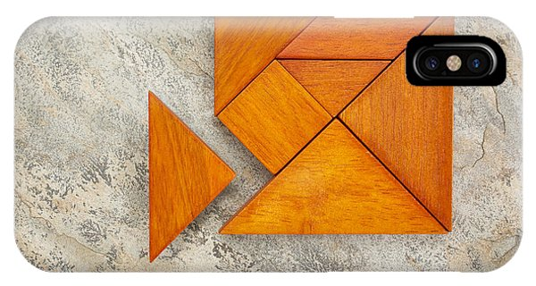Misfit Concept With Tangram IPhone Case