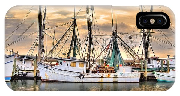 Miss Hale Shrimp Boat IPhone Case