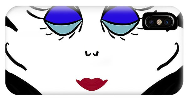Miss Jones IPhone Case