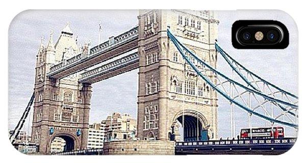 London Bridge iPhone Case - Missing #london #towerbridge #bridge by Niki Kwan