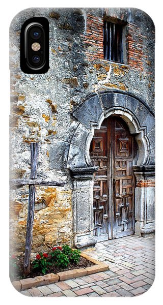Mission Espada - Doorway IPhone Case