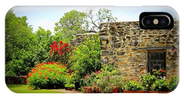 Mission Espada - Garden IPhone Case