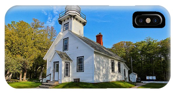 Mission Point Lighthouse 1 IPhone Case