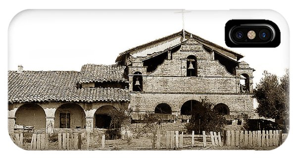 Mission San Antonio De Padua California Circa 1885 IPhone Case
