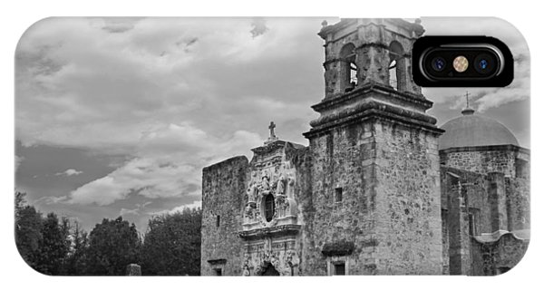 Mission San Jose Bw IPhone Case