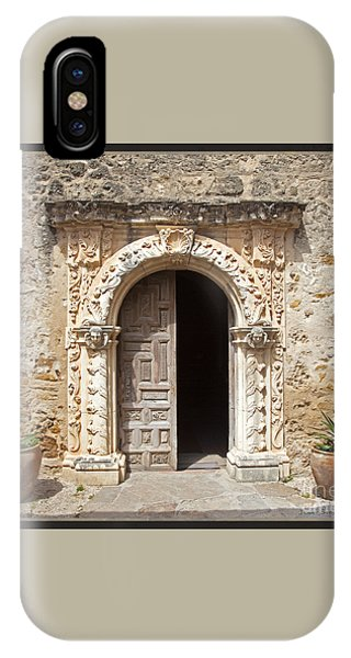 Mission San Jose Chapel Entry Doorway IPhone Case