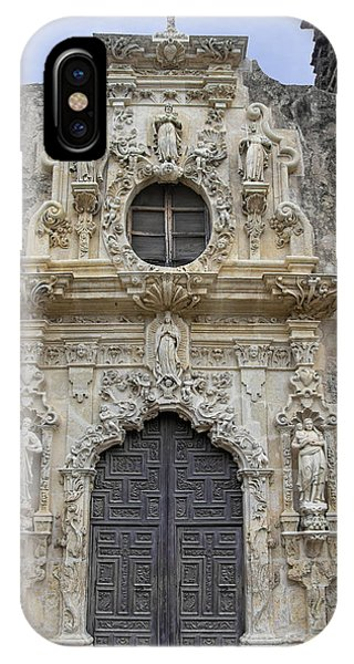Mission San Jose Doorway IPhone Case