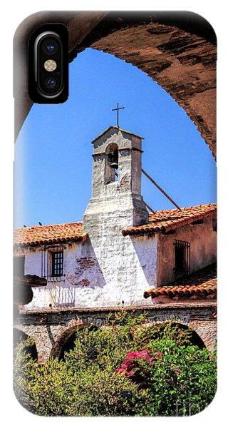 Mission San Juan Capistrano IPhone Case