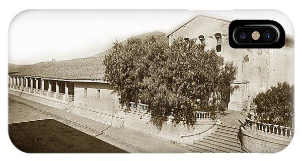 Mission San Luis Obispo De Tolosa California 1880  IPhone Case