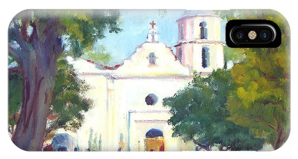 Mission San Luis Rey IPhone Case